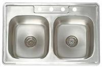 AS111 Stainless Steel Surface Mount Sink